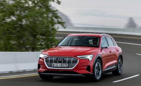 2019 Audi e-tron (Color: Catalunya Red) Front Three-Quarter Wallpaper 450x275 (5)