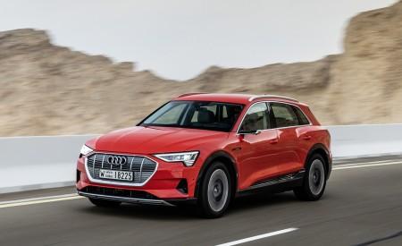 2019 Audi e-tron (Color: Catalunya Red) Front Three-Quarter Wallpaper 450x275 (17)