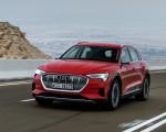 2019 Audi e-tron (Color: Catalunya Red) Front Three-Quarter Wallpapers 150x120 (7)