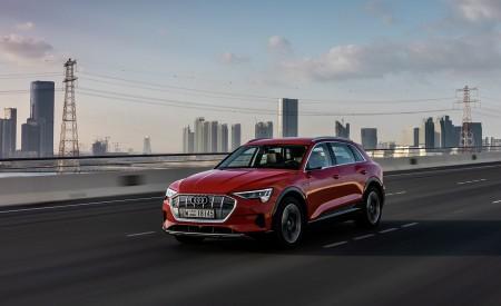 2019 Audi e-tron (Color: Catalunya Red) Front Three-Quarter Wallpaper 450x275 (28)