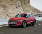 2019 Audi e-tron (Color: Catalunya Red) Front Three-Quarter Wallpapers 150x120 (18)