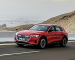 2019 Audi e-tron (Color: Catalunya Red) Front Three-Quarter Wallpapers 150x120 (8)