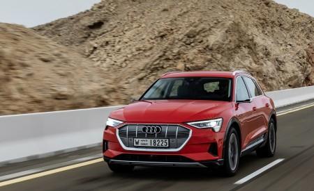 2019 Audi e-tron (Color: Catalunya Red) Front Wallpaper 450x275 (9)