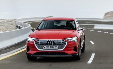 2019 Audi e-tron (Color: Catalunya Red) Front Wallpaper 450x275 (20)