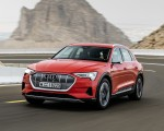 2019 Audi e-tron (Color: Catalunya Red) Front Wallpapers 150x120 (10)