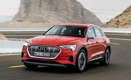2019 Audi e-tron (Color: Catalunya Red) Front Wallpaper 450x275 (10)