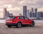 2019 Audi e-tron (Color: Catalunya Red) Rear Three-Quarter Wallpapers 150x120 (42)