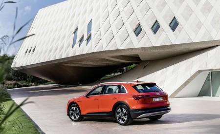 2019 Audi e-tron (Color: Catalunya Red) Rear Three-Quarter Wallpaper 450x275 (38)