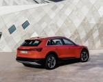 2019 Audi e-tron (Color: Catalunya Red) Rear Three-Quarter Wallpapers 150x120 (39)