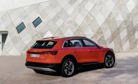 2019 Audi e-tron (Color: Catalunya Red) Rear Three-Quarter Wallpaper 450x275 (39)