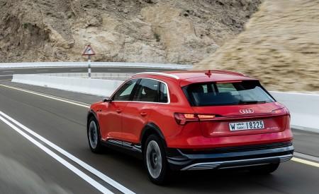 2019 Audi e-tron (Color: Catalunya Red) Rear Three-Quarter Wallpaper 450x275 (21)