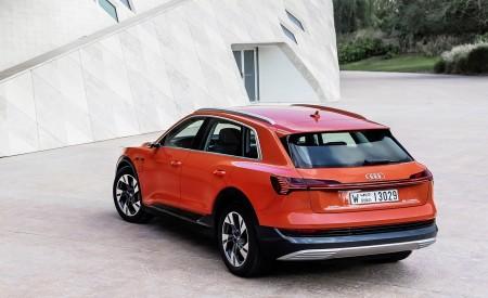 2019 Audi e-tron (Color: Catalunya Red) Rear Three-Quarter Wallpaper 450x275 (40)