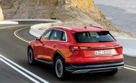 2019 Audi e-tron (Color: Catalunya Red) Rear Three-Quarter Wallpaper 450x275 (31)