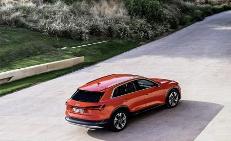 2019 Audi e-tron (Color: Catalunya Red) Rear Three-Quarter Wallpaper 450x275 (41)