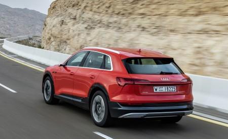 2019 Audi e-tron (Color: Catalunya Red) Rear Three-Quarter Wallpaper 450x275 (22)