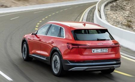 2019 Audi e-tron (Color: Catalunya Red) Rear Three-Quarter Wallpaper 450x275 (32)