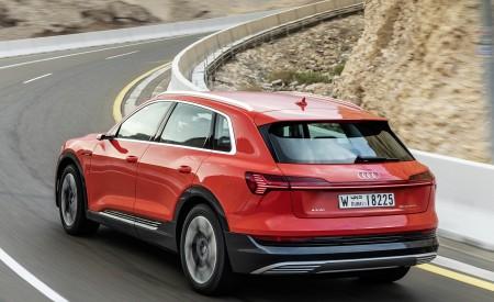 2019 Audi e-tron (Color: Catalunya Red) Rear Three-Quarter Wallpaper 450x275 (11)
