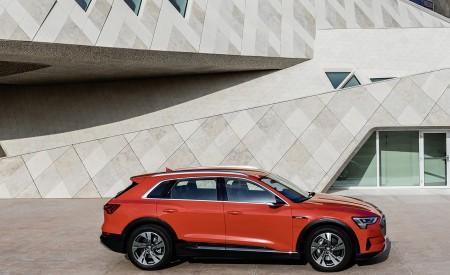 2019 Audi e-tron (Color: Catalunya Red) Side Wallpaper 450x275 (45)