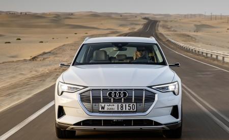 2019 Audi e-tron (Color: Glacier White) Front Wallpaper 450x275 (208)