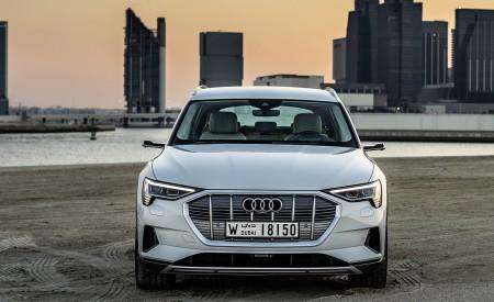 2019 Audi e-tron (Color: Glacier White) Front Wallpaper 450x275 (226)