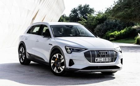 2019 Audi e-tron (Color: Glacier White) Front Wallpaper 450x275 (216)