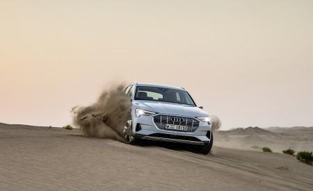 2019 Audi e-tron (Color: Glacier White) Front Wallpaper 450x275 (209)