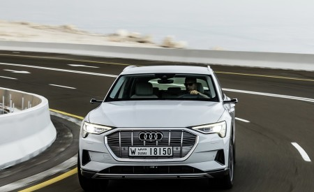 2019 Audi e-tron (Color: Glacier White) Front Wallpaper 450x275 (201)