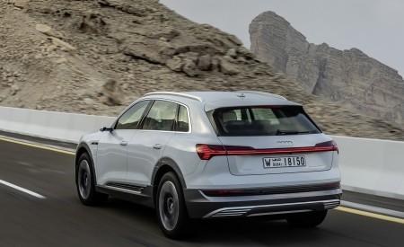 2019 Audi e-tron (Color: Glacier White) Rear Three-Quarter Wallpaper 450x275 (203)