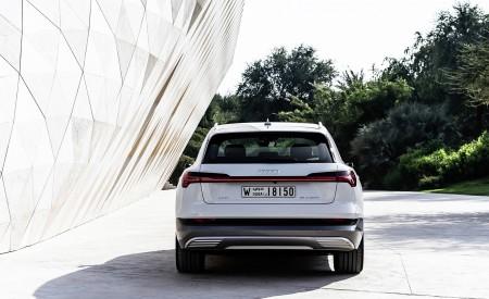 2019 Audi e-tron (Color: Glacier White) Rear Wallpaper 450x275 (218)