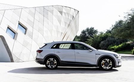 2019 Audi e-tron (Color: Glacier White) Side Wallpaper 450x275 (220)