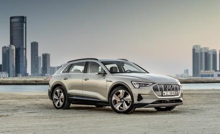 2019 Audi e-tron (Color: Siam Beige) Front Three-Quarter Wallpaper 450x275 (167)