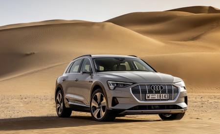 2019 Audi e-tron (Color: Siam Beige) Front Three-Quarter Wallpaper 450x275 (158)