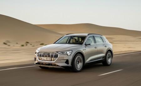 2019 Audi e-tron (Color: Siam Beige) Front Three-Quarter Wallpaper 450x275 (141)