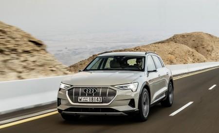 2019 Audi e-tron (Color: Siam Beige) Front Three-Quarter Wallpaper 450x275 (142)