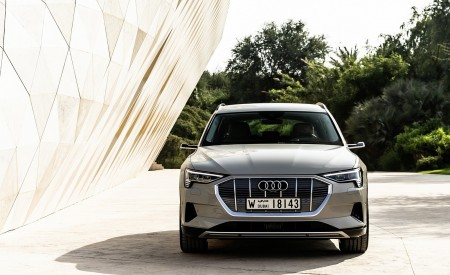 2019 Audi e-tron (Color: Siam Beige) Front Wallpaper 450x275 (179)