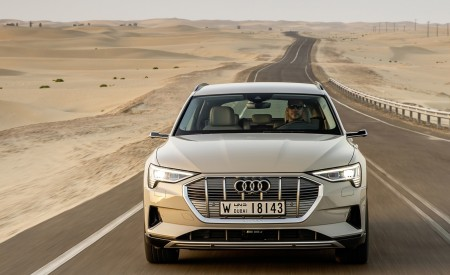 2019 Audi e-tron (Color: Siam Beige) Front Wallpaper 450x275 (152)