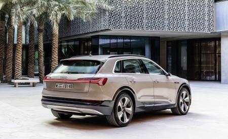 2019 Audi e-tron (Color: Siam Beige) Rear Three-Quarter Wallpaper 450x275 (187)