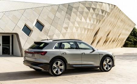 2019 Audi e-tron (Color: Siam Beige) Rear Three-Quarter Wallpaper 450x275 (181)