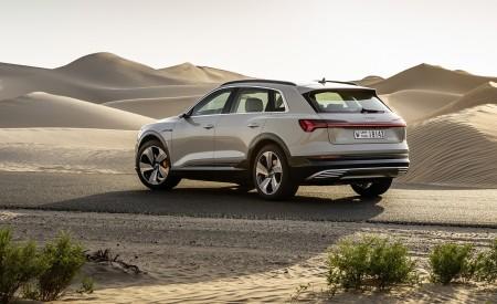 2019 Audi e-tron (Color: Siam Beige) Rear Three-Quarter Wallpaper 450x275 (163)