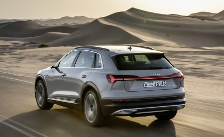 2019 Audi e-tron (Color: Siam Beige) Rear Three-Quarter Wallpaper 450x275 (144)