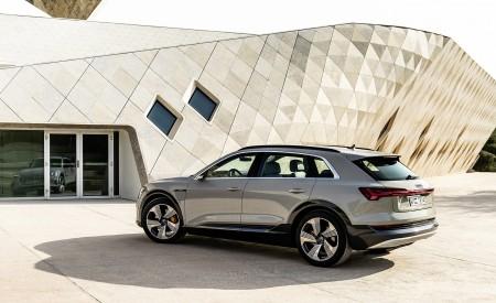 2019 Audi e-tron (Color: Siam Beige) Rear Three-Quarter Wallpaper 450x275 (182)