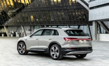 2019 Audi e-tron (Color: Siam Beige) Rear Three-Quarter Wallpaper 450x275 (183)