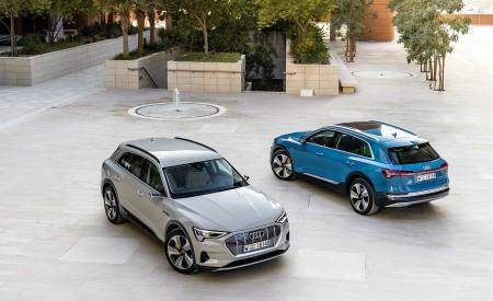 2019 Audi e-tron (Color: Siam Beige) and Audi e-tron (Color: Antigua Blue) Front Wallpaper 450x275 (194)