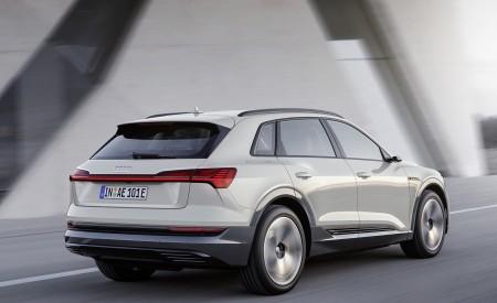2019 Audi e-tron Electric SUV (Color: Siam Beige) Rear Three-Quarter Wallpaper 450x275 (131)
