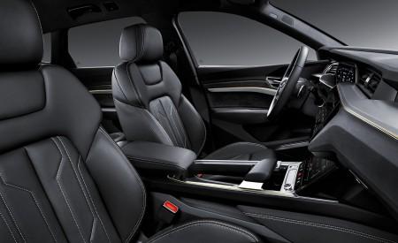 2019 Audi e-tron Electric SUV Interior Front Seats Wallpaper 450x275 (134)