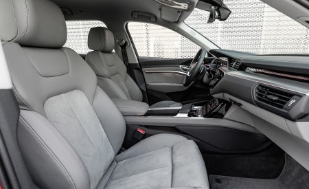 2019 Audi e-tron Interior Front Seats Wallpaper 450x275 (52)
