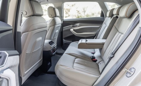 2019 Audi e-tron Interior Rear Seats Wallpaper 450x275 (189)