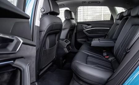 2019 Audi e-tron Interior Rear Seats Wallpaper 450x275 (121)