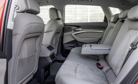 2019 Audi e-tron Interior Rear Seats Wallpaper 450x275 (51)
