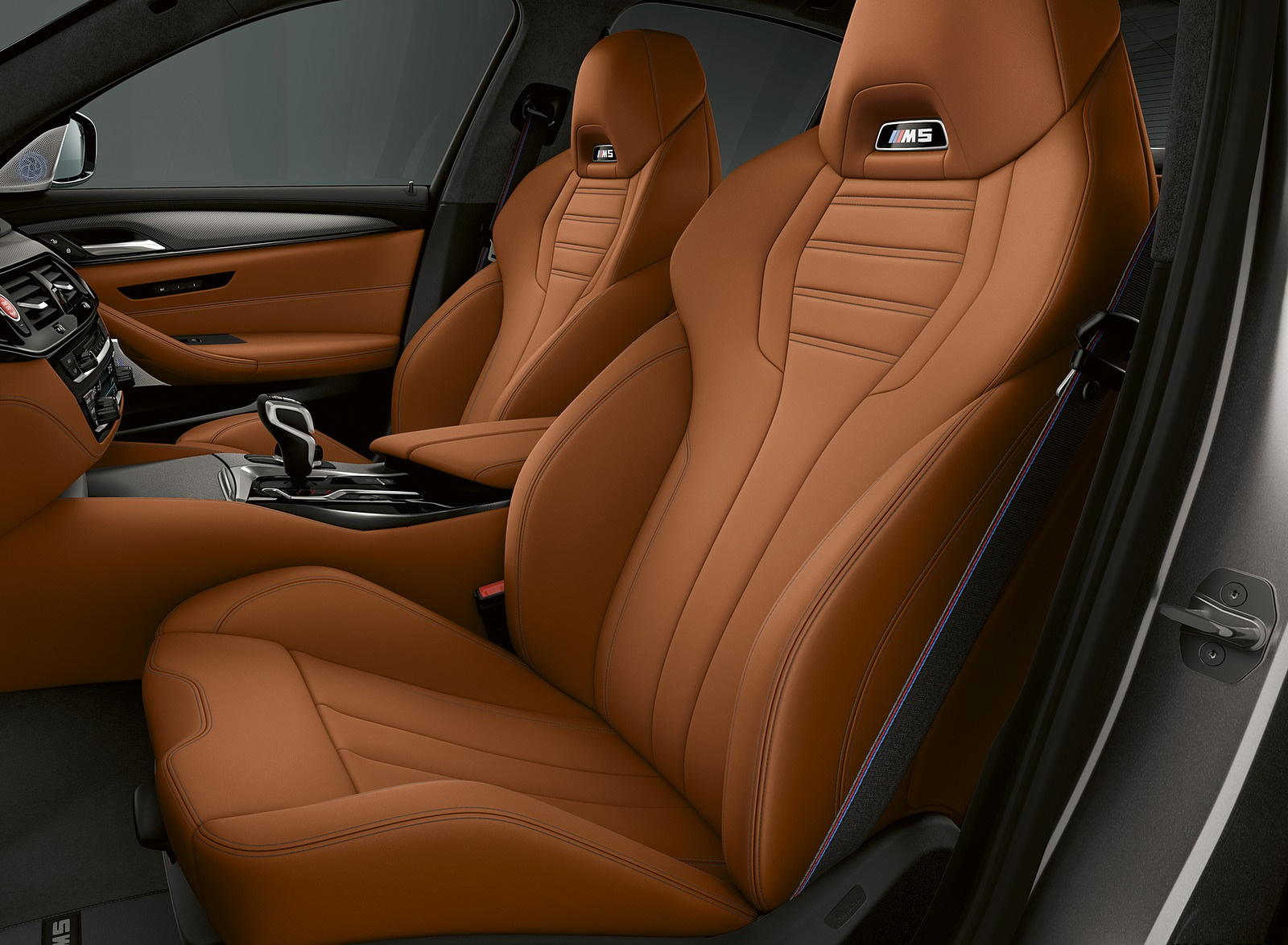 2019 BMW M5 Competition Interior Front Seats Wallpaper (13)